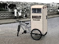 OpenIDEO - How can we improve sanitation and better manage human waste in low-income urban communities? - Concepting - BIKE + TOILET = BIKELET!