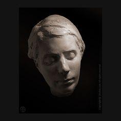 quick portrait sketch - plaster . #sculpture - #sketch - #portrait - #portraitsculpture - #clay - #claysculpture - #plaster - #jeandavidsolon