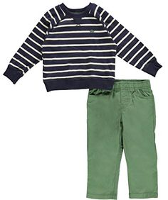Carter's Baby Boys' 2 Piece Pant Set (Baby) - Stripe - 24 Months Carter's http://www.amazon.com/dp/B00L3VWBMK/ref=cm_sw_r_pi_dp_NRwoub1569EF3