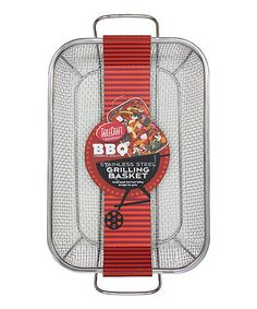 Love this Stainless Steel Grilling Basket on #zulily! #zulilyfinds