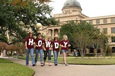 From the Texas A&M University FB page... WHOOP!
