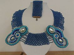 arjadne / modrý náhrdelník