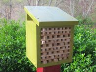 @Richard Callicott  .......Like this design .........Follow these easy steps to build a pollinator house in your yard.