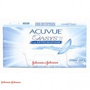 $27.80 Acuvue Oasys for Astigmatism - 6 Lentes - 27.80€
