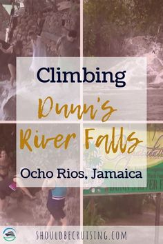 On our Panama Canal cruise we made an unscheduled stop in Jamaica. We got to climb Dunn's River Falls in Ocho Rios and visit the Bamboo Beach Club. Cruise Port, Cruise Tips, Cruise Travel, Cruise Vacation, Cruise Offers, Cruise Destinations, Cruise Excursions, Jamaica Travel, Ocho Rios