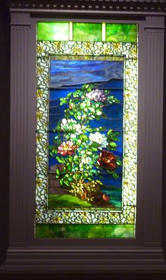 Tiffany window, displayed at Seattle Art Museum, personal photo
