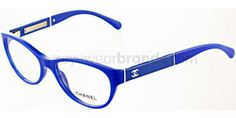 Chanel CH3233Q 1342 Blue Chanel Glasses   Chanel Prescription Glasses from EyewearBrands Chanel Glasses, Fashion Eye Glasses, Good To See You, Four Eyes, Sunglasses Online, Dress For Success, Glasses Frames, Eyeglasses, Eyewear