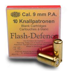 Wadie Flash Defence Blitz Platzpatronen - Kal. 9mm P.A.
