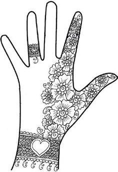 Pakistani Girls Mehndi Design