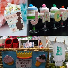 baby shower ideas for boys | Being creative can be fun and easy! (photos: Pinterest)