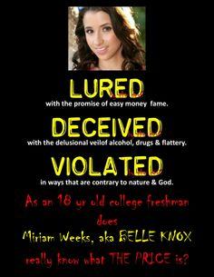 Belle Knox aka Miriam Weeks