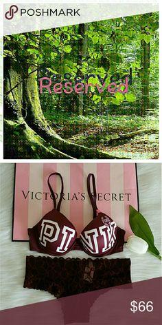 Reserved Reserved PINK Victoria's Secret Intimates & Sleepwear Bras