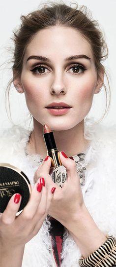 Classic makeup: Olivia Palermo for Ciaté London