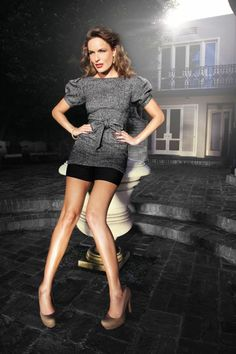 Want this tunic w/ shorts... jennifer lopez for Kohl's