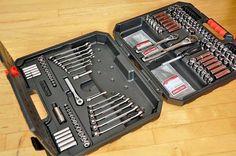Gifts for men. Bob Vila recommended Gift. Top Tools Craftsman-would make a great Father's Day Gift. 145-Piece Mechanic's Tool Set. giftgiving
