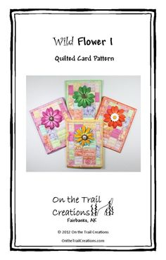 Flower Design Quilted Download Sewing Pattern