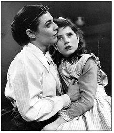 Anne Bancroft con Patty Duke