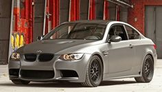 German car tuning company Cam Shaft has given the BMW M3 coupe a makeover.  With the job complete, the new BMW M3 is seen in a matte finished gray metallic foil covering the sports car. The German tuning company specializes in car wraps and has turned the external looks of BMW M3 around.