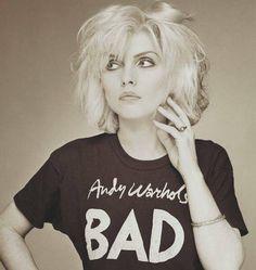 Debra Harry from Blondie