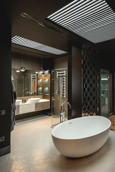 Own your morning // bathroom // home decor // interior // wall art // urban suite // city loft // urban life // city living // luxury life // House, Home, Modern Bathroom Design, Bathroom Interior, Freestanding Tub Faucet, Luxury Bathroom, Bathrooms Remodel, Beautiful Bathrooms, Asian Home Decor