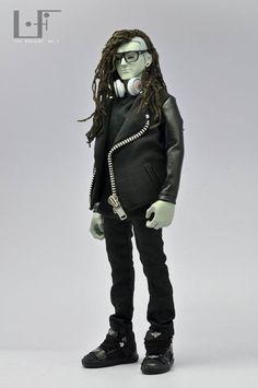 Skrillex : Action figure