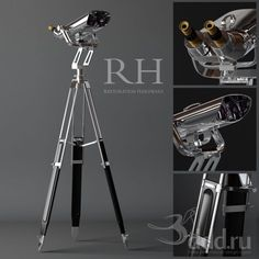 PROFI Restoration Hardware 3dsMax 2012 + fbx (Vray) : Other decorative objects : 3dSky - 3d models