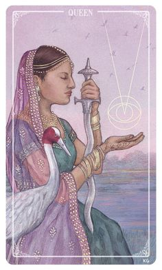 Card of the Day – Queen of Swords – Sunday, June 11, 2017 « Tarot by Cecelia