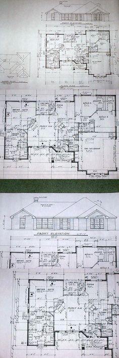 Building Plans and Blueprints 42130 Custom Home House Plan 1,875 Sf - new blueprint for 3 car garage