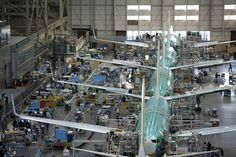 Boeing 737 Factory in Renton, WA