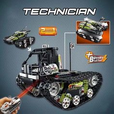 Buy 397PCS Lepininglys Compatible Legoingly 42065 Technic Caterpillar Vehicles RC Tracked Racer Cars playmobil Building Blocks Toys | Hepsia Rc Track, Building Blocks Toys, Pack And Ship, Toy Sale, Caterpillar, Monster Trucks, Cars, Vehicles, Playmobil