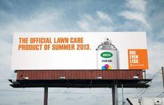 Denver Water campaign 2013. Use even less.  Agency: Sukle Advertising & Design.  Water conservation. #water #denver #waste