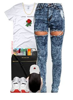 """""""933   love yourself"""" by yeauxbriana ❤ liked on Polyvore featuring Retrò and Fremada"""