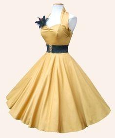 1950s Halterneck Dress from Vivien of Holloway