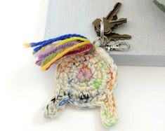 Unicorn butt funny keychain for bags and accessories Unicorn Mom, Magical Unicorn, Llama Decor, Crochet Monsters, Funny Valentine, Crochet Gifts, Holiday Gift Guide, Funny Gifts, Knot