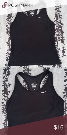 Nike top Excellent condition   Really comfortable, stretchy, and fitted  Fits like a glove Nike Tops Tank Tops