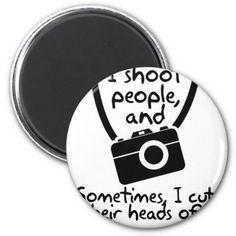 #Photographer  I Shoot People Magnet - #WeddingMagnets #Wedding #Magnets Wedding Magnets