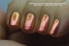 Klub Nieanonimowych Lakieroholiczek: Sally Hansen Lustre Shine 006 Lava
