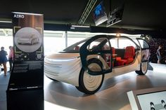 Heatherwick Studio unveils Airo prototype at Goodwood Festival of Speed Electric Car News, Parametric Architecture, Goodwood Festival Of Speed, Article Design, Glass Roof, Studio, Sustainability, Projects, Log Projects