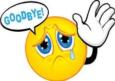 Saying Goodbye Quotes and Sayings Funny Emoji Faces, Emoticon Faces, Funny Emoticons, Smiley Faces, Goodbye Images, Goodbye Quotes, Goodbye Pictures, Goodbye Poem, Smiley Emoji