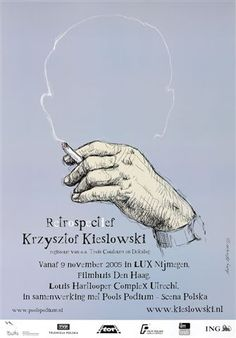 designer: Pagowski Andrzej poster title: Retrospectief Krzysztof Kieslowski  year of poster: 2005  poster nationality: Polish  The Art of Poster - The largest collection of Polish posters