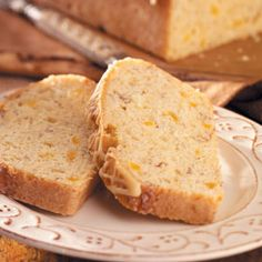 apricot bread recipes | Almond Apricot Bread Recipe photo by Taste of Home