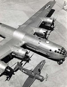 Boeing B29 & Culver Q-14 Cadet