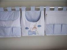 Resultado de imagen para porta fraldas de tecido
