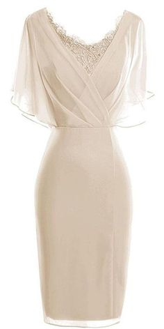 Bodycon Scoop Short Sleeves Beige dress for mothers of the bride, Chiffon Mother of The Bride Dress Mob Dresses, Beige Dresses, Fashion Dresses, Bridesmaid Dresses, Formal Dresses, Lace Bridesmaids, Chiffon Dresses, Dance Dresses, Homecoming Dresses