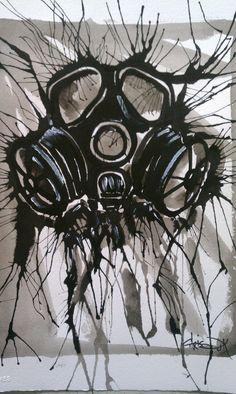 Gas Mask by WikidCanvas.deviantart.com