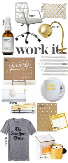 Work it. Desk Space. Office.