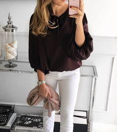 #marsala # #blouse #Mint Label #ootd #style #insatamood #instagram #instafashion #fashion #streetstyle #happy