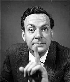 The one an only Richard Feynman, arguably the best science teacher of the 20th century.