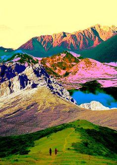cosmic mountains