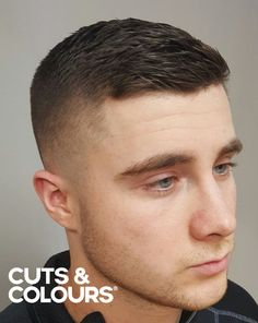 Casual Style | Kort haar mannen | CUTS & COLOURS Short Hair Lengths, Short Hair Styles For Round Faces, Hairstyles For Round Faces, Short Hair Cuts, Curly Hair Styles, Short Styles, Short Hair For Men, Short Mens Cuts, Best Short Haircuts
